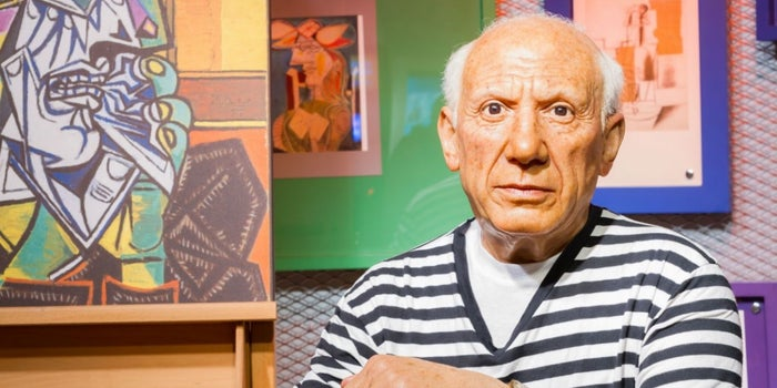picasso pintores andaluces